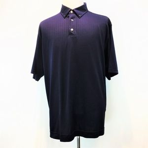 FootJoy XL Navy Polyester Polo shirt NEW